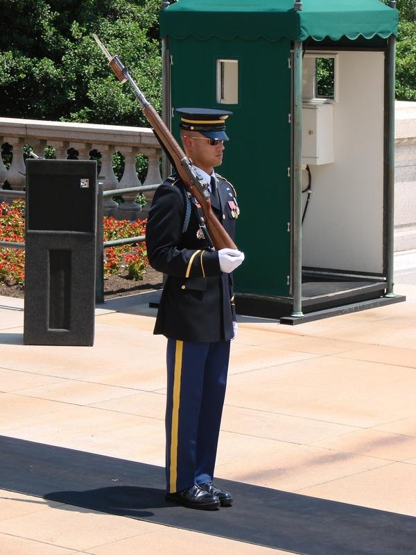Guarding the tomb of the unknown soldier facts