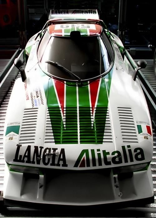 The Rally World Champion Lancia Stratos