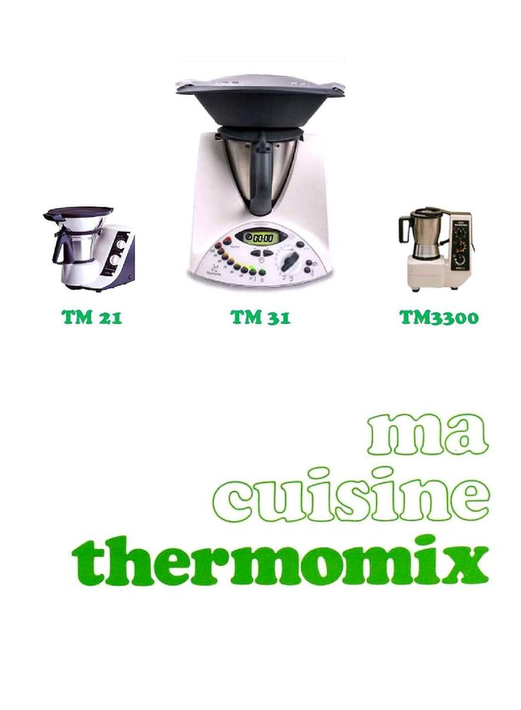 Thermomix - Ma cuisine THERMOMIX