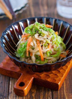 お湯をかけるだけ♪『白菜と切り干し大根のうまナムル』 by Yuu | レシピサイト「Nadia | ナディア」プロの料理を無料で検索