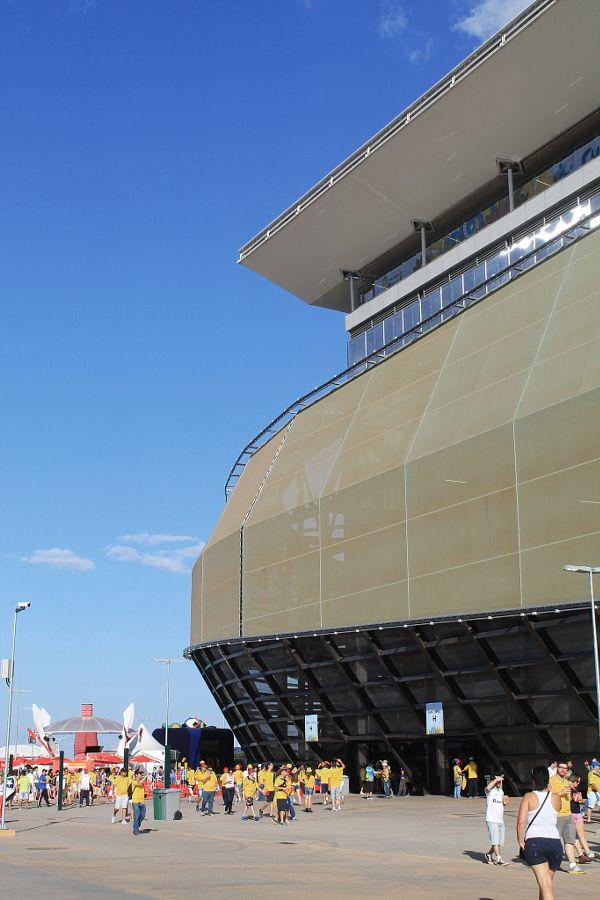 Arena Pantanal Stadium in Cuiabá, Mato Grosso, Brasil