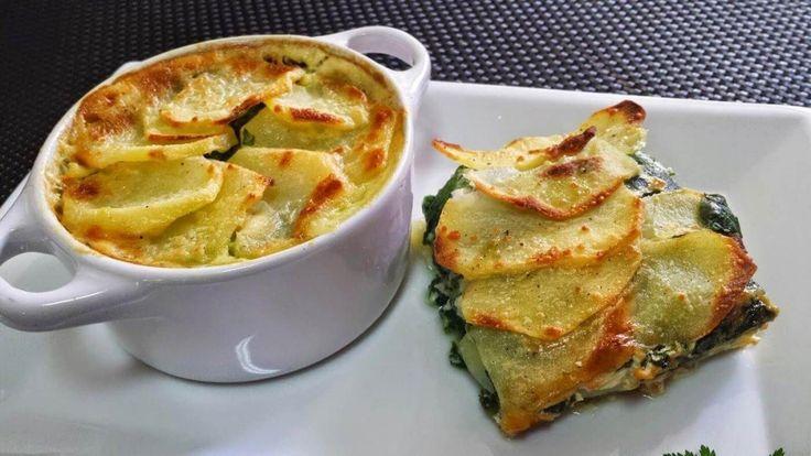Una selección de cuatro deliciosas recetas con espinacas. Incluso si buscas recetas con espinacas para adelgazar, aquí las encontrarás