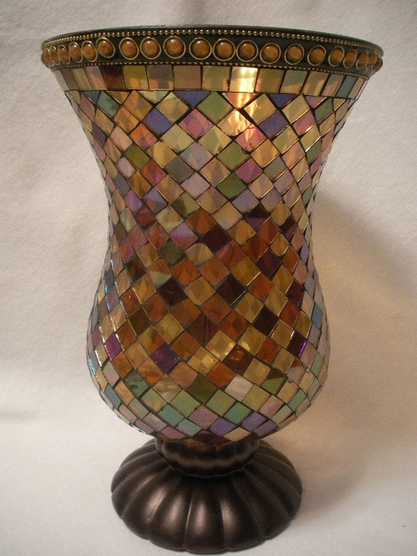 Global Fusion Hurricane Lamp - the starting point for the living room!