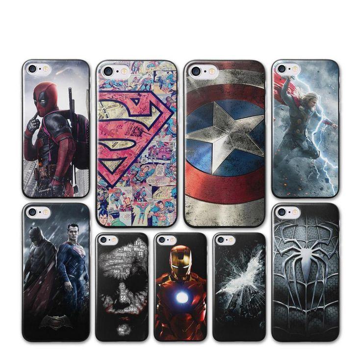 Coque iPhone Super Héros