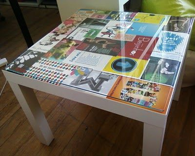 Ikea Lack hack bedside table...would love to do this!!! Also links to a whole website of Ikea hacks!!!
