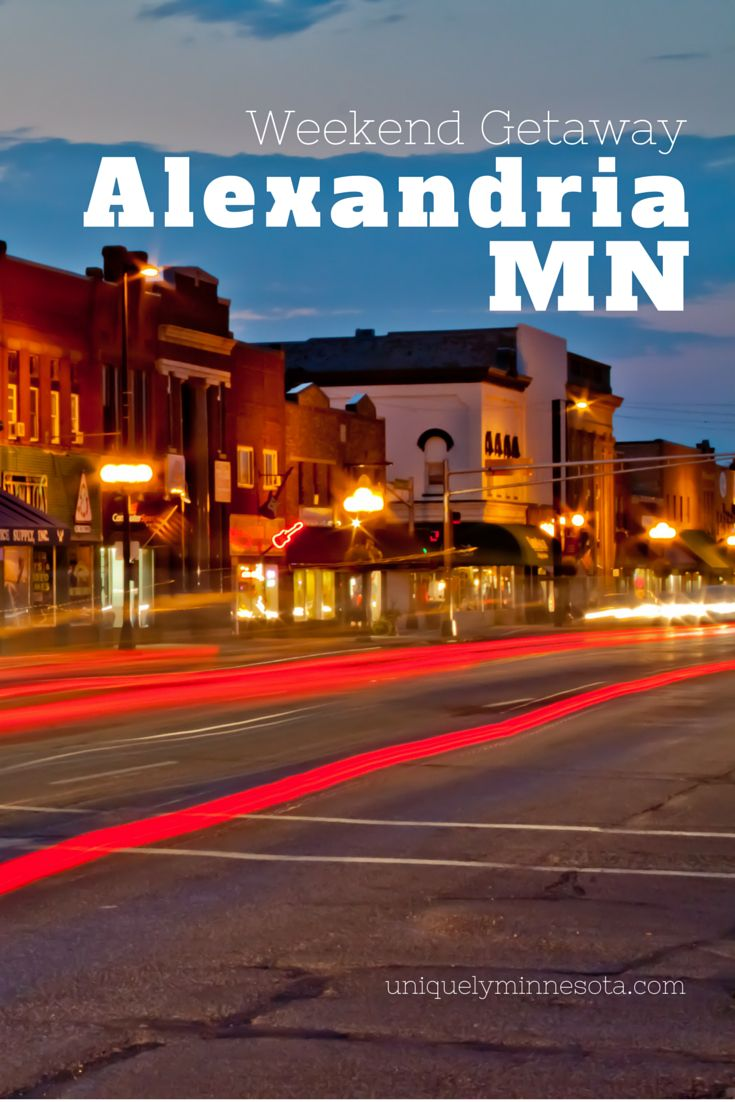 Alexandira mn weekend getaway planning guide weekend for Get away for the weekend