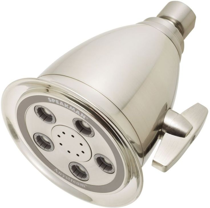 Speakman S-2005-HB-E2 Hotel 2.0 GPM Multi-Function Shower Head Brushed Nickel Showers Shower Heads Multi Function