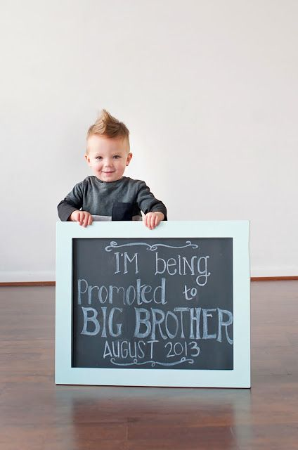 Such a cute baby announcement!