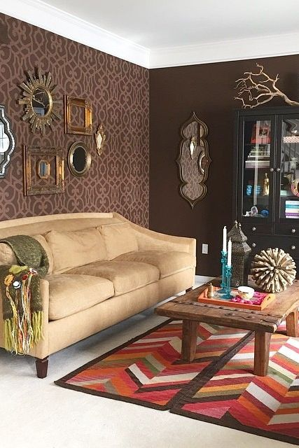 Get Creative With Area Rugs Seen Here Are Two Matching