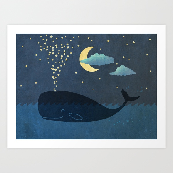 Star-maker Art Print by Terry Fan | Society6. This print makes me happy.