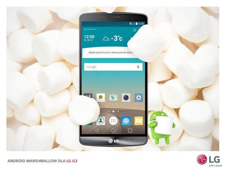 Verizon LG G3 starts getting Android 6.0 Marshmallow update