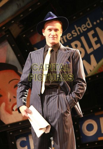 CHICHESTER, ENGLAND - AUG 19: Jamie Parker as Sky Masterson in the Chichester Festival Theatre production of Guys & Dolls directed by Gordon...