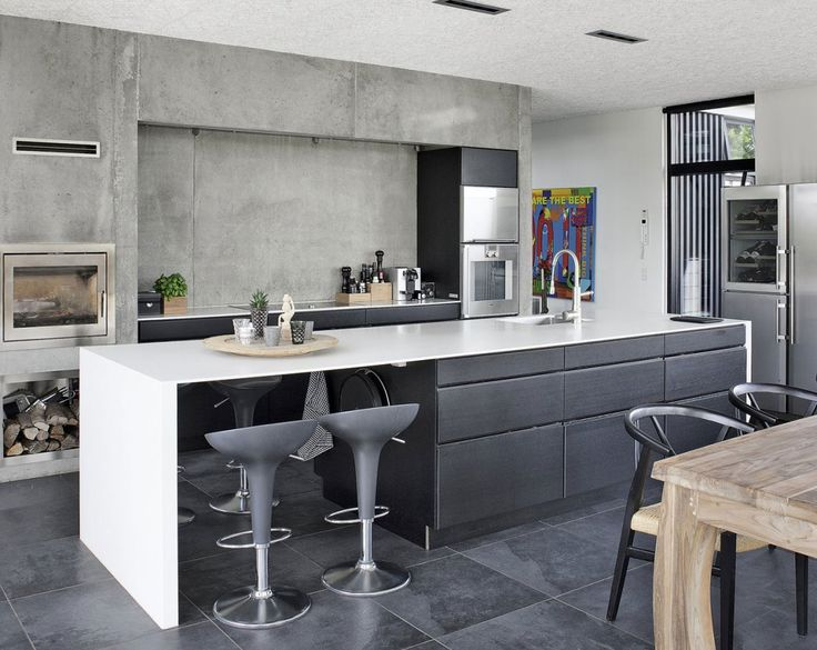 Kitchen Trends 2015 CONCRETE With The Whole Industrial Design Trend In Full Boom