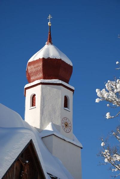 Damüls, Kirche Hl. Nikolaus (Bregenz) Vorarlberg AUT