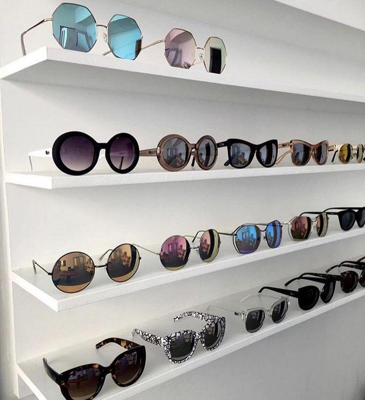 awesome 99 DIY Creative Ideas To Make Sunglasses Display Shelf http://www.99architecture.com/2017/02/27/99-diy-creative-ideas-make-sunglasses-display-shelf/
