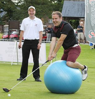 Coronation Street Blog: Tyrone, Kirk & Chesney's charity golf takes place ...