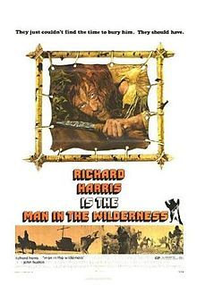 """12/26/11. """"Man in the Wilderness"""". With Richard Harris as Zachary Bass and John Huston as Captain Henry."""