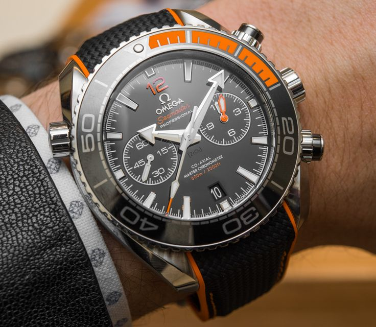 Omega Seamaster Planet Ocean Master Chronometer Chronograph Watches Hands-On