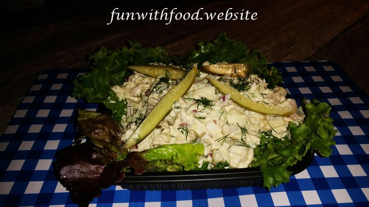 Southern chicken salad is delicious with the creaminess of the mayo an the eggs, with that vinegar taste of the pickles. It is a crowd pleaser.