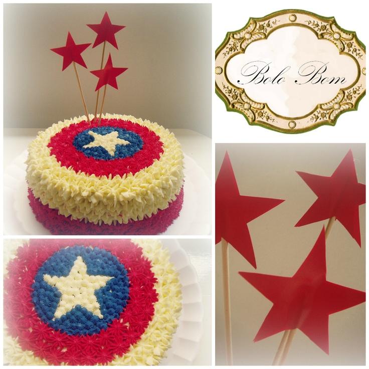 Torta Capitão América