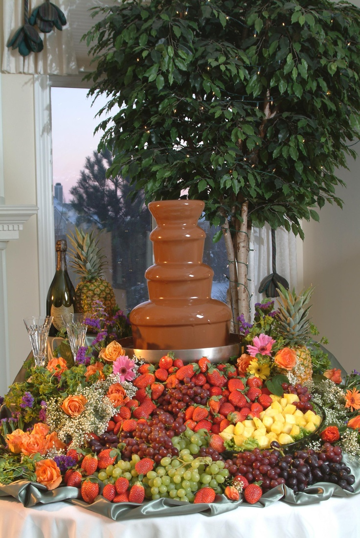 21 best Chocolate fountain images on Pinterest