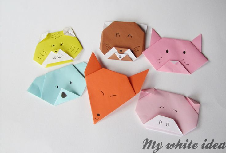 Oooh how we love some basic paper crafts - and here are some super cute animal origami characters! How lovely indeed. The kids will love making them - use them to decorate a child's room, make some greeting cards…