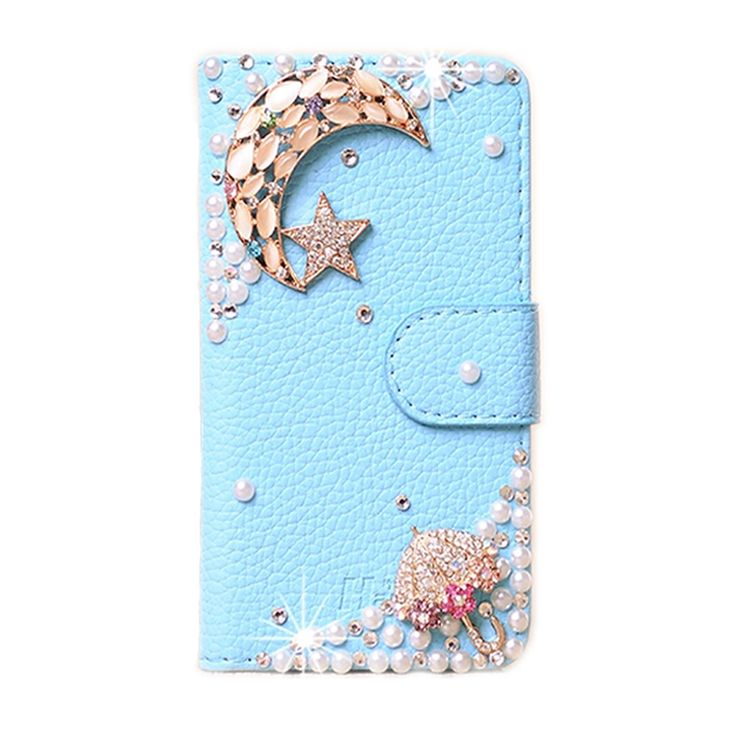 """DIY Cute Luxury Crystal Diamond Flip Leather Case Cover For Xiaomi Redmi Note 3 Pro 5.5"""" Handmade Bling PU Mobile Phone Cases"""