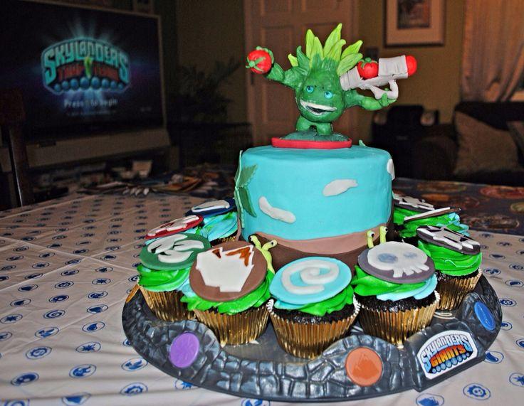 Team Birthday Skylanders Trapping Cakes 4Th Nolan