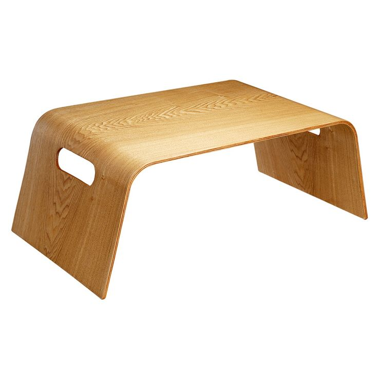 Plateau pour petit d jeuner au lit point virgule living for Ikea table rectangulaire