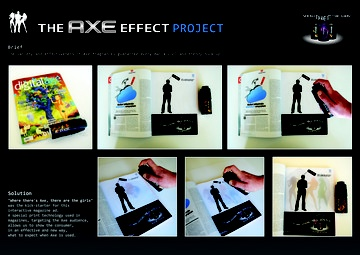 Gold - Creative Use of Traditional Advertising Formats and The Game, The Axe effect project, Unilever, Lowe Istanbul