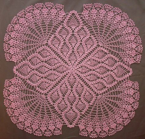 Square Doily pattern!