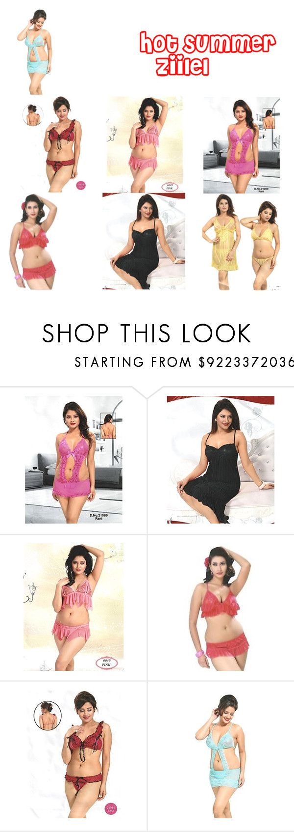 Holi Special Sale by lavanyas-trendzs on Polyvore featuring bra, bridal, panty, honeymoonwear and lingerieset  Shop First Wedding Night Lingerie's By Indiatrendzs At Ebay http://stores.ebay.in/royalimport