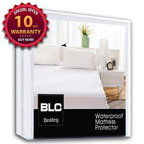 Balichun Waterproof Mattress Pad Protector Cover Fitted 8 21