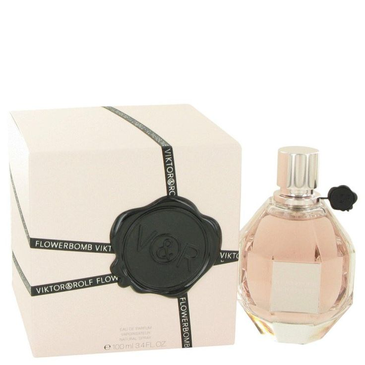 Flowerbomb By Viktor & Rolf Eau De Parfum Spray 3.4 Oz