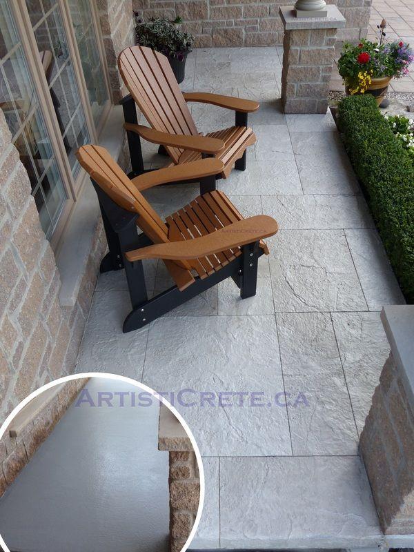 17 Best Ideas About Concrete Resurfacing On Pinterest Painting Concrete Porch Front Porch