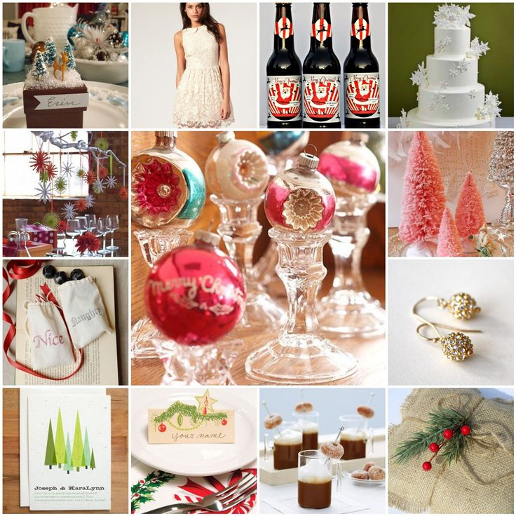 Vintage Christmas Party Ideas Part - 38: Christmas Party Ideas | Inspiration: Retro Christmas Party Wedding Ideas |  Woodsy Weddings