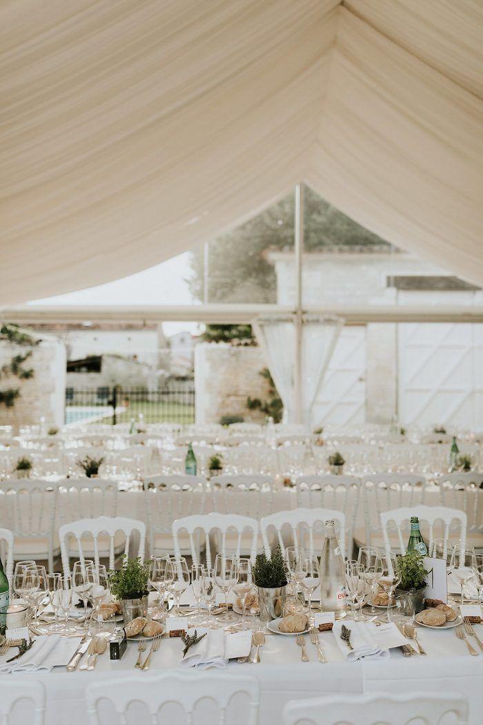 Elegant Outdoor French Wedding At The Brides Familys Cognac Farm