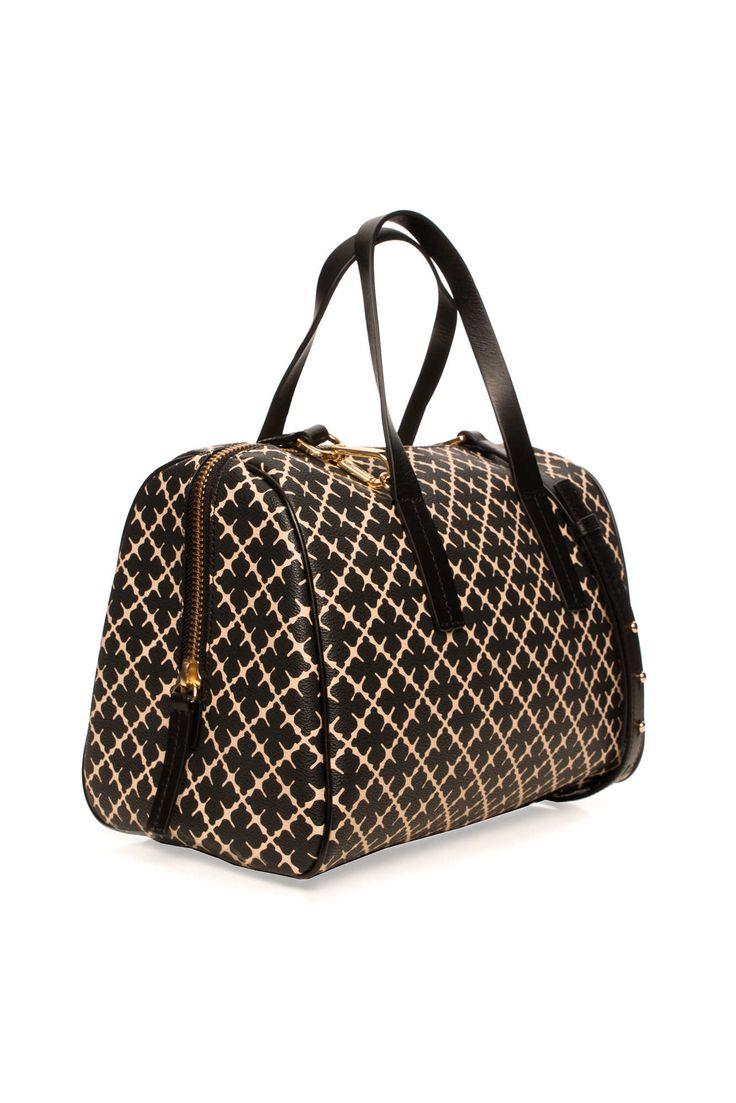 Handväska Moshie BLACK/WHITE - Handväskor - Väskor - Raglady