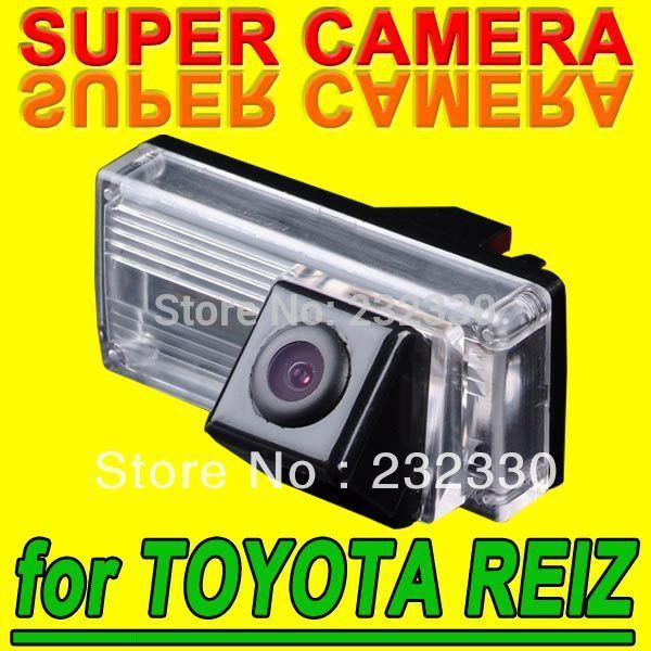 For Philips TOYOTA NEW REIZ LAND CRUISER Car Reverse Rear View Parking Back Up Color Camera NTSC System Kit for Navigation GPS