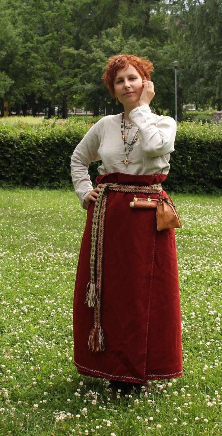 Estonian Viking Age woman by ~elote on deviantART