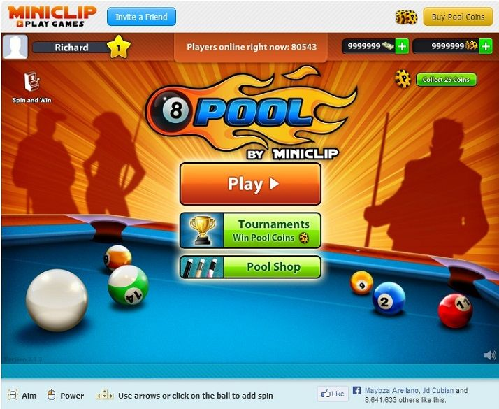 The new 8 ball Pool Cheats