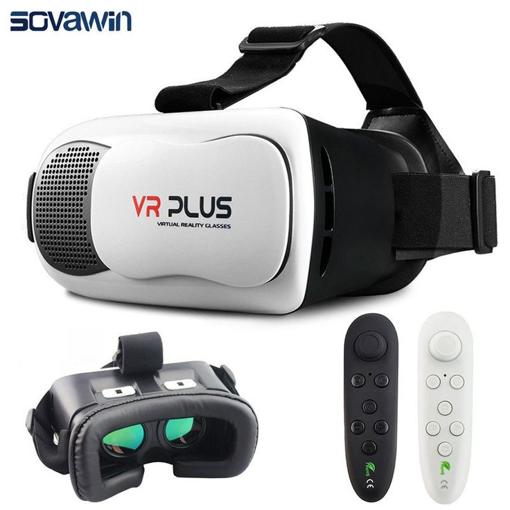 VR Box Plus 3.0 iii Virtual Reality Headset for 4 - 6.5