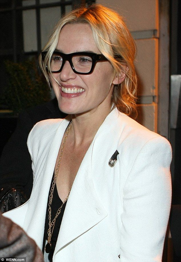 Kate Winslet and husband Ned Rocknroll are all smiles at the opening night of Book Of Mormon | Mail Online