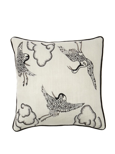 68% OFF Better Living Crane Pillow (Ivory)