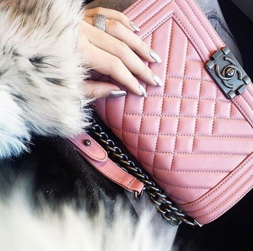 Pink and chanel