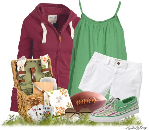 """Family Picnic and Games"" by stylesbyjoey ❤ liked on Polyvore"
