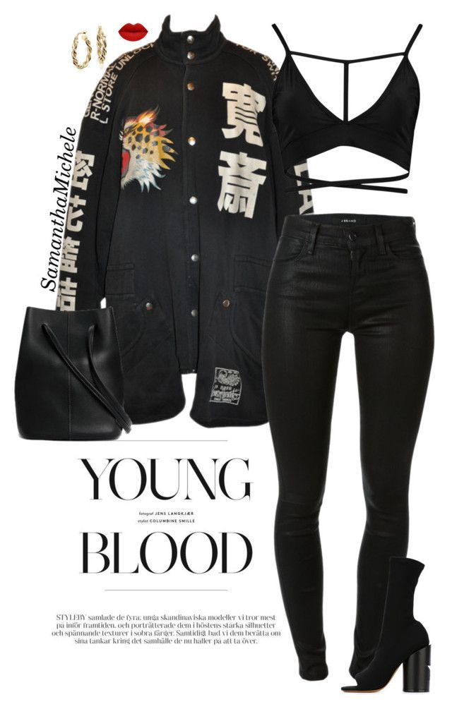 Untitled #448 by samanthamichele on Polyvore featuring polyvore fashion style Boohoo J Brand Givenchy Blue Nile clothing