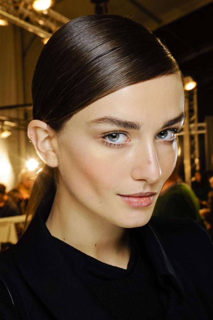 Straight And Sleek Hair - Autumn Winter 2012-13 Trend (Vogue.com UK)