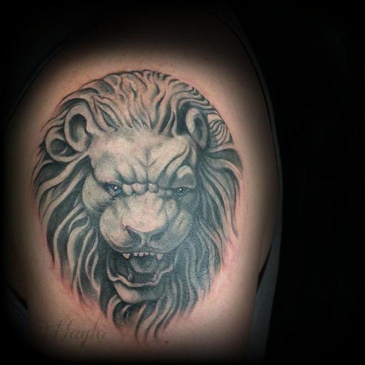 17 best ideas about lion head tattoos on pinterest