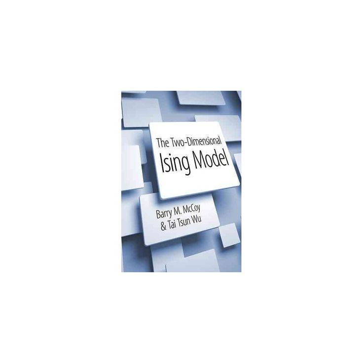 The Two-Dimensional Ising Model (Paperback)